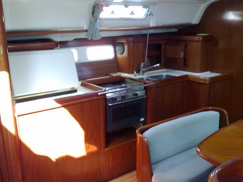 Boat rental Palma cheap Oceanis 411-4