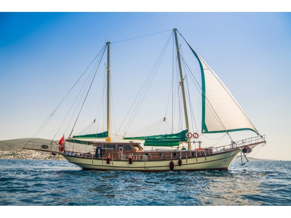 Rental Sailboat in Bodrum -  Gulet Golden Princess