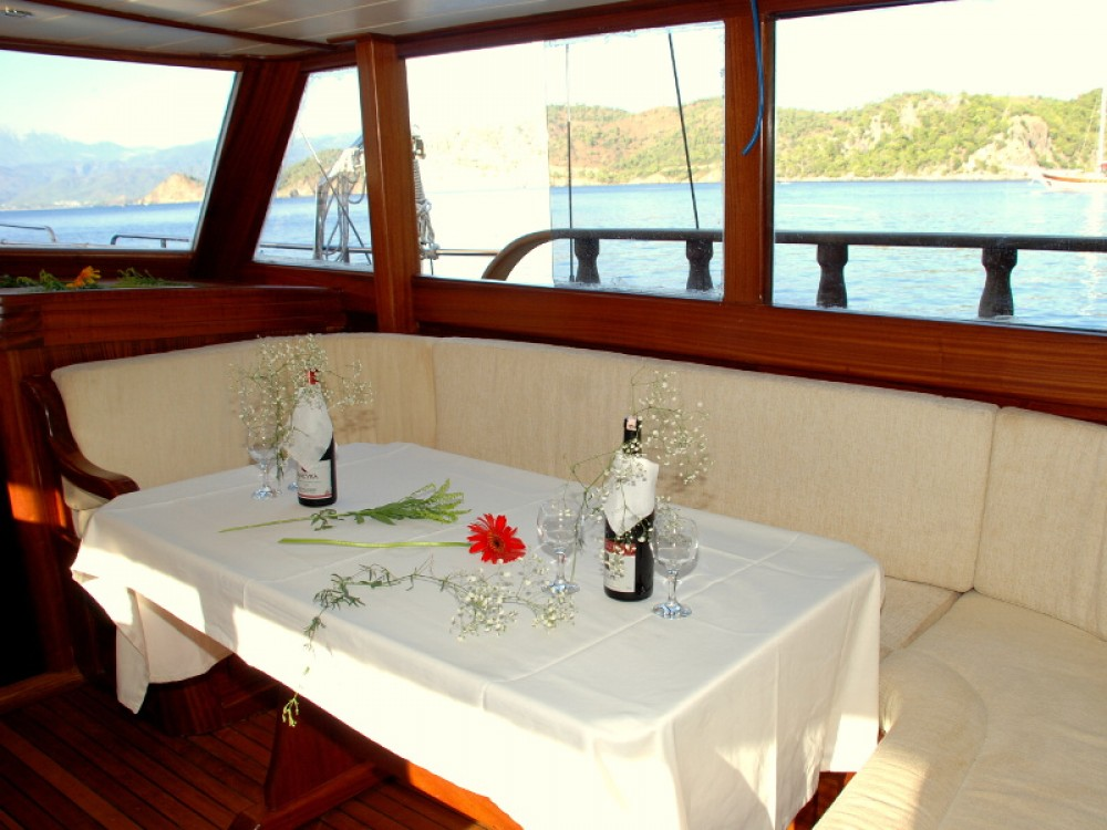 Boat rental Bodrum cheap Gulet Be Happy