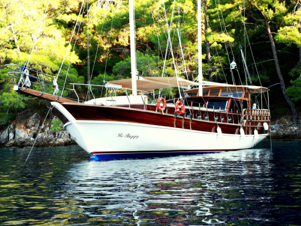 Rental Sailboat in Bodrum -  Gulet Be Happy