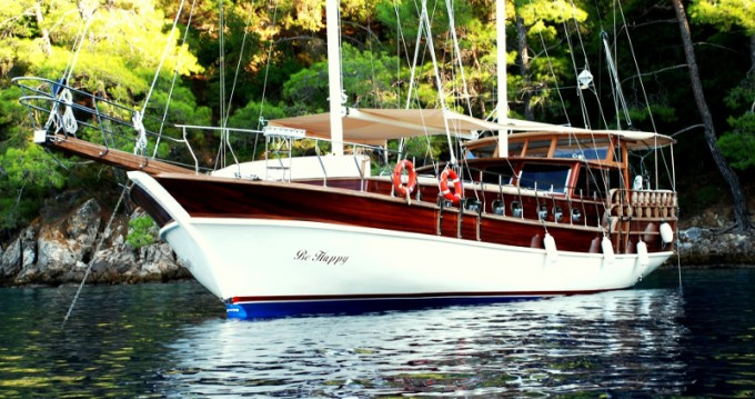 Rental Sailboat in Bodrum -  Gulet Be Happy