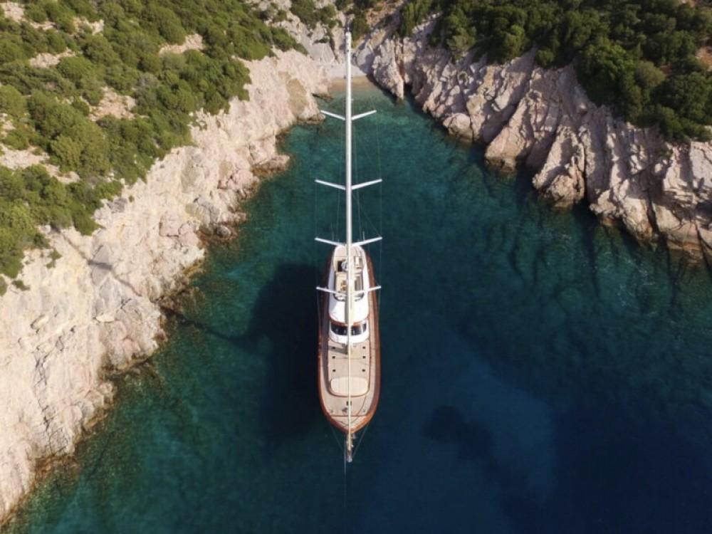 Rental Sailboat in Bodrum -  Gulet Daglarca
