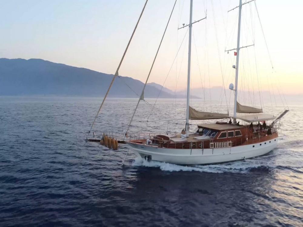 Boat rental Muğla cheap Gulet Arabella