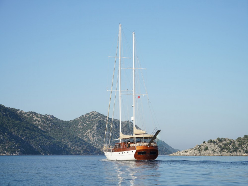 Gulet Arabella between personal and professional Bodrum