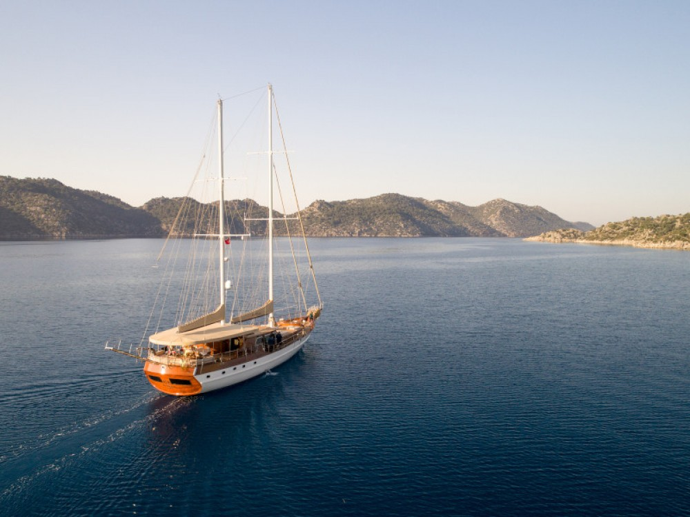 Hire Sailboat with or without skipper  Muğla