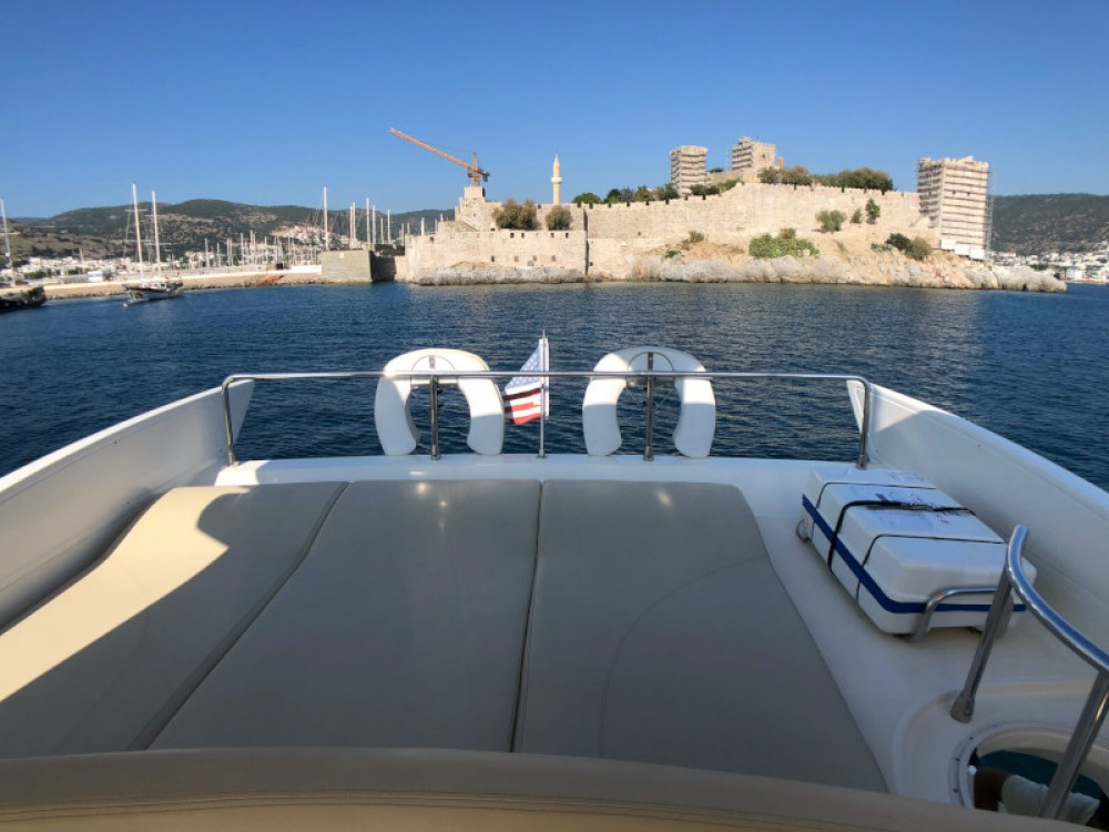 Azimut Azimut 55 between personal and professional Bodrum