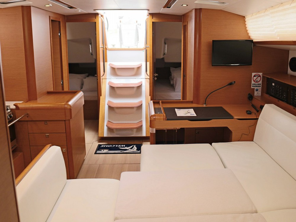 Boat rental Sukošan cheap SUN ODYSSEY 509 BT