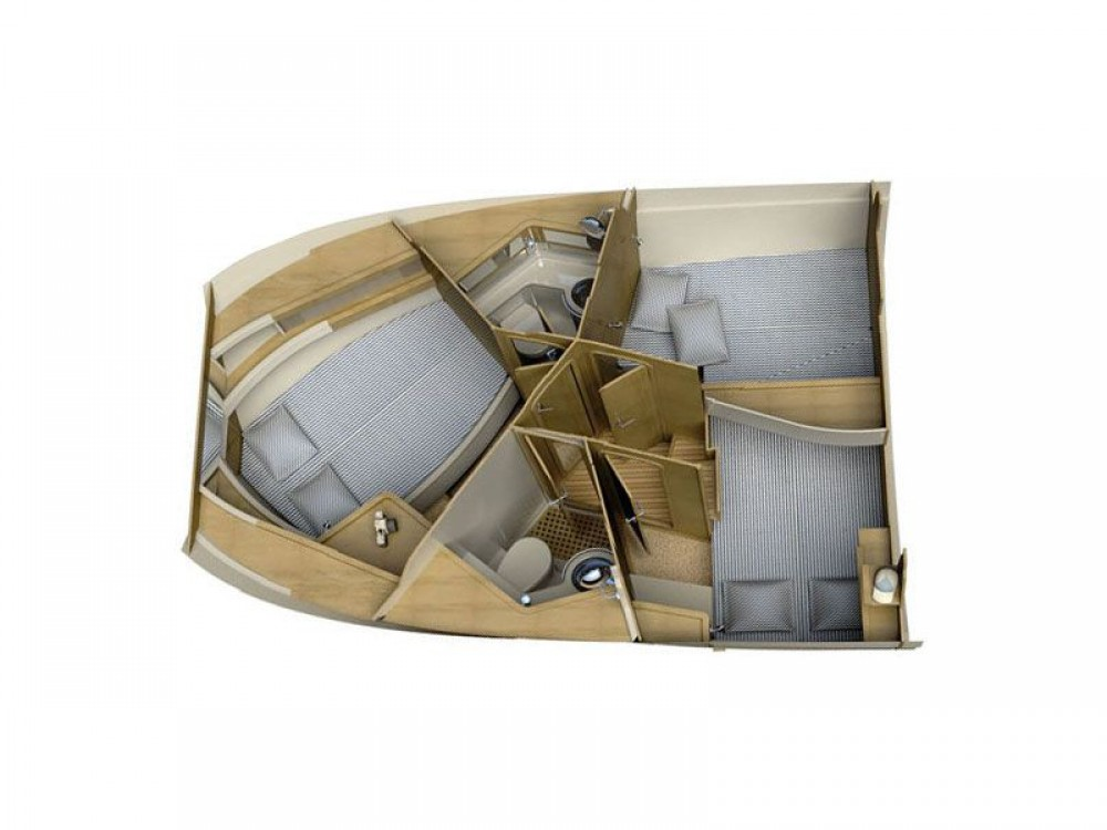 Rental Motorboat in  - Sas Vektor ADRIANA 36 BT (16)