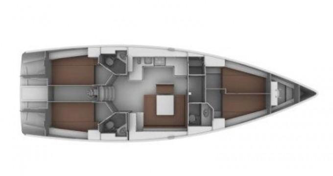 Boat rental Sukošan cheap BAVARIA C 45 BT