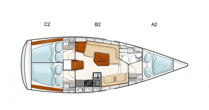 Rental yacht Sukošan - Hanse Hanse 350 on SamBoat