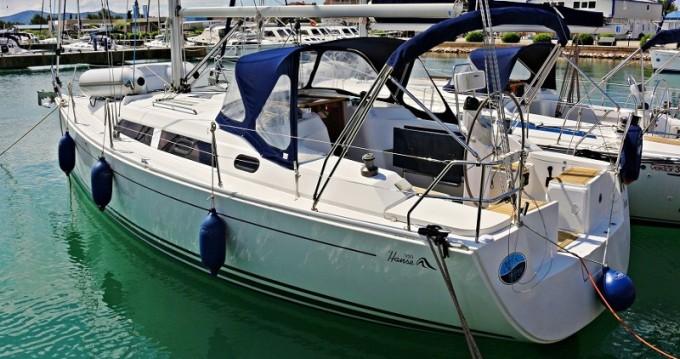 Boat rental Sukošan cheap Hanse 350