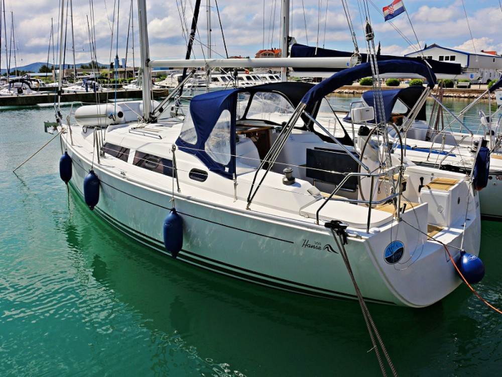 Boat rental  cheap Hanse 350