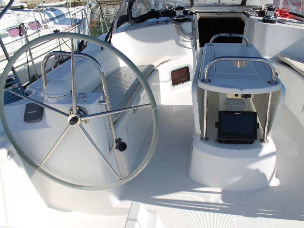 Jeanneau Sun Odyssey 49i between personal and professional Skradin
