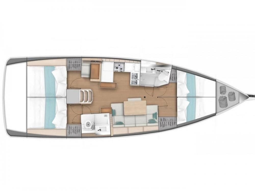 Rental yacht Primošten - Jeanneau Sun Odyssey 440 on SamBoat