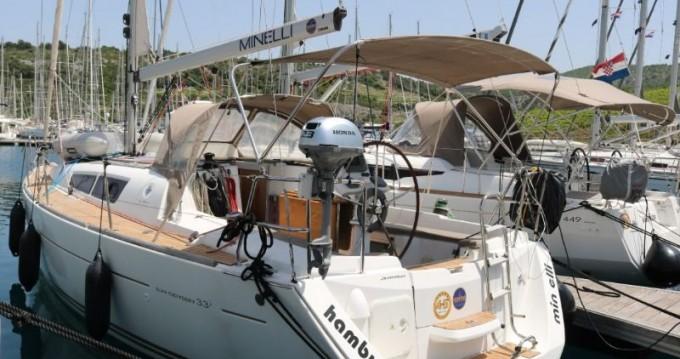 Boat rental Trogir cheap Sun Odyssey 33i