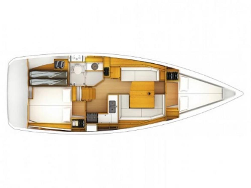 Rental yacht Primošten - Jeanneau Sun Odyssey 379 (2cab) on SamBoat