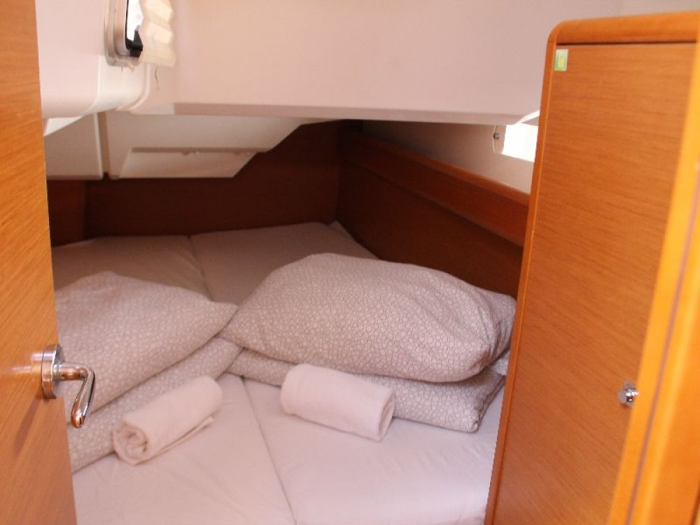 Boat rental Primošten cheap Sun Odyssey 379 (3cab)