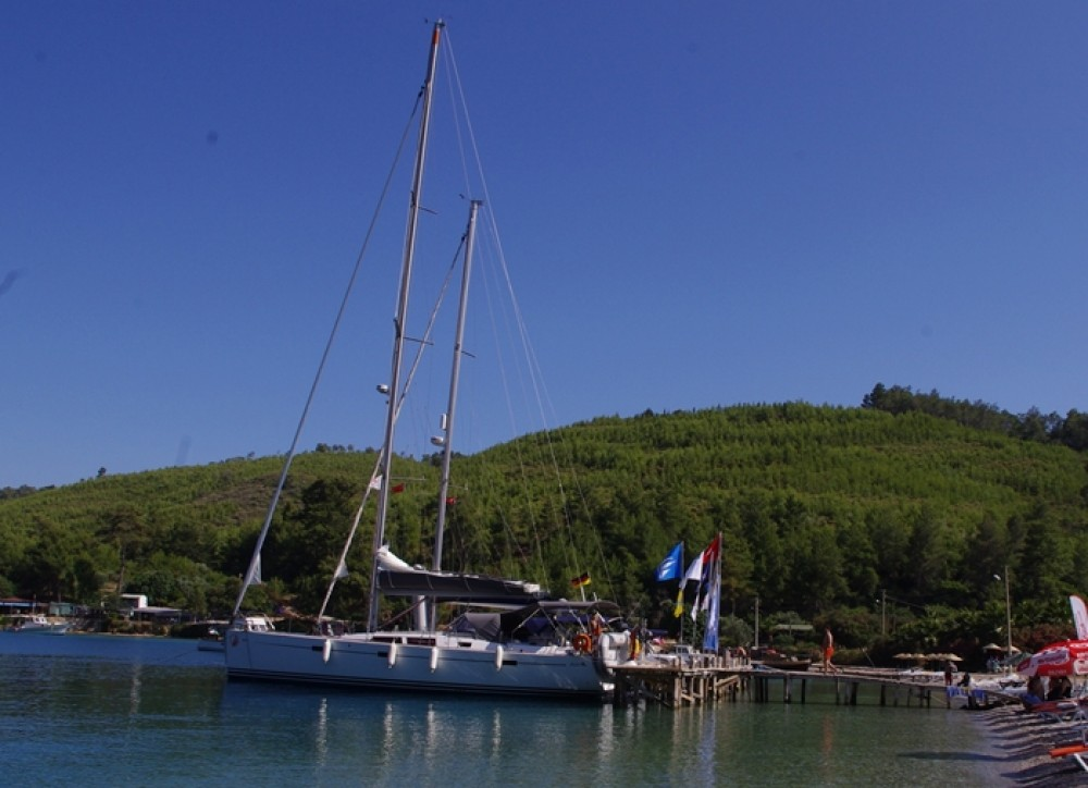 Boat rental Hanse Hanse 470e in Marmaris on Samboat