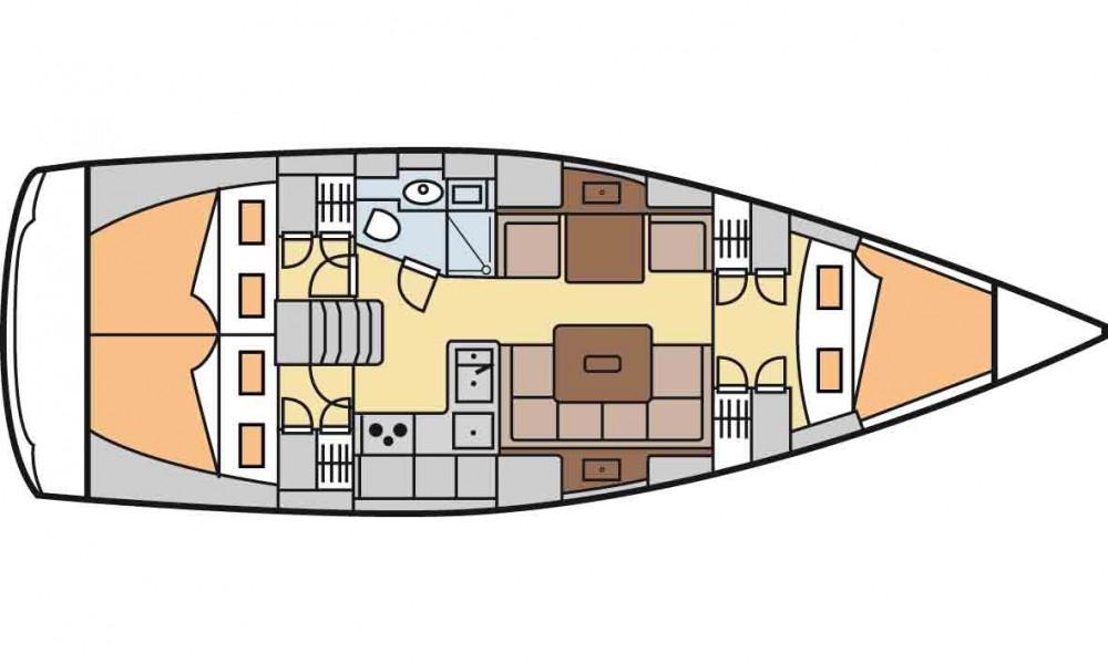 Boat rental Hanse Hanse 375 in Marmaris on Samboat