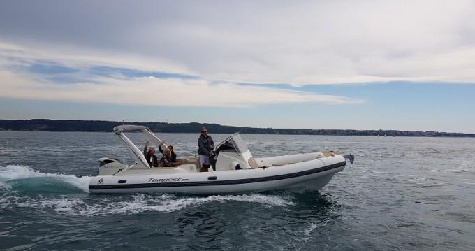 Boat rental Sukošan cheap TEMPEST 800 + Suzuki 350
