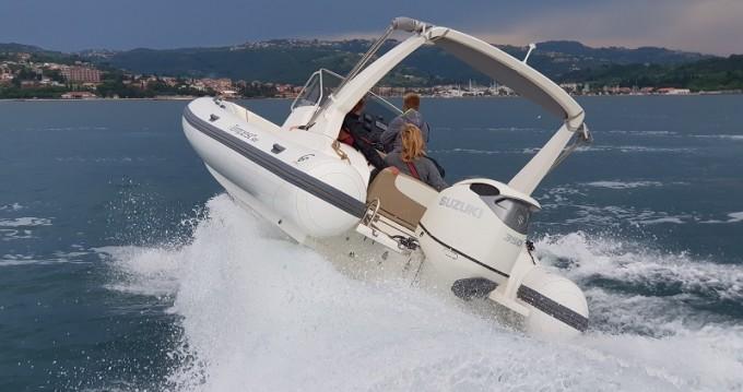 Rental yacht Sukošan - Cantieri TEMPEST 800 + Suzuki 350 on SamBoat