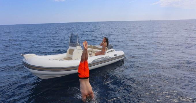 Boat rental Sukošan cheap Tempest 65BR