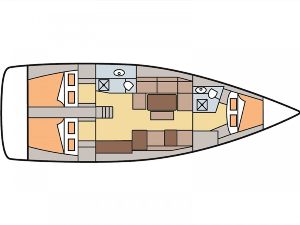 Rental Sailboat in Rogoznica - Dufour Dufour 410 Grand Large 8
