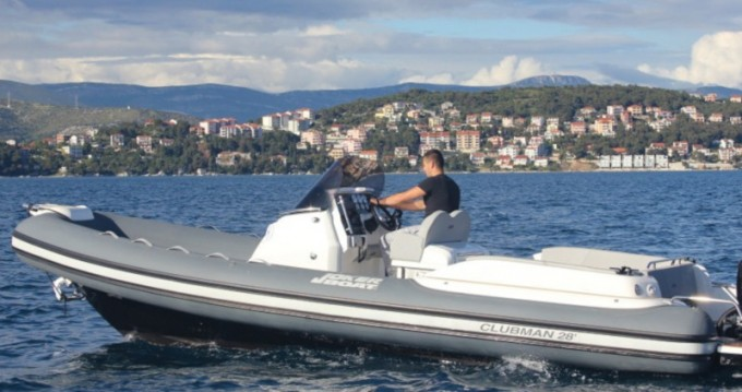 Boat rental Sukošan cheap CLUBMAN 28 + Mercury 2x250