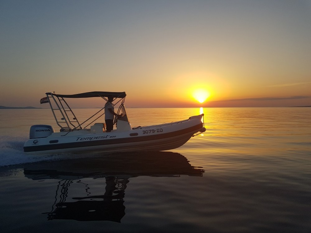Rental yacht Sukošan - Cantiere TEMPEST 600 + Honda 135 on SamBoat