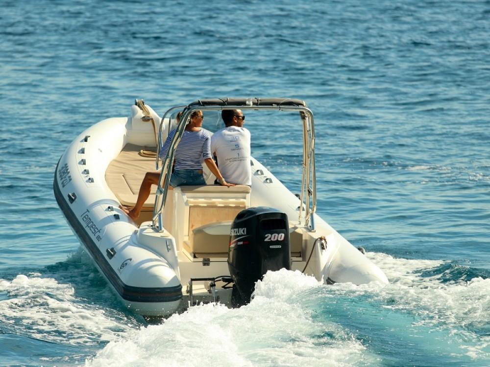 Rental yacht  - Cantiere TEMPEST 650 + Suzuki 200 on SamBoat