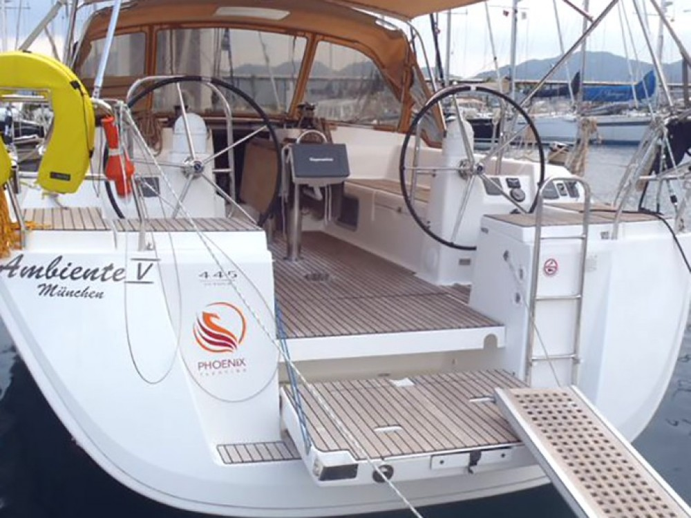 Rental Sailboat in Fethiye - Dufour Dufour 445 GL 6 pax