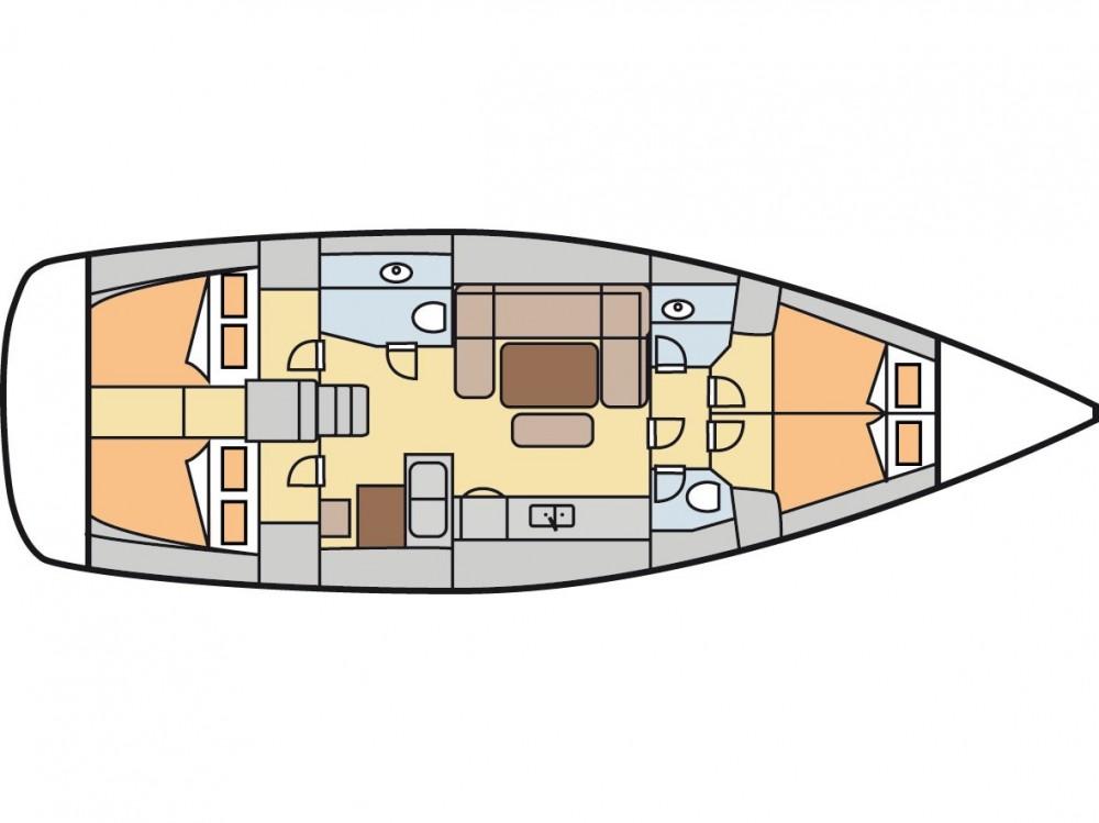 Rental Sailboat in Fethiye - Dufour Dufour 450 GL
