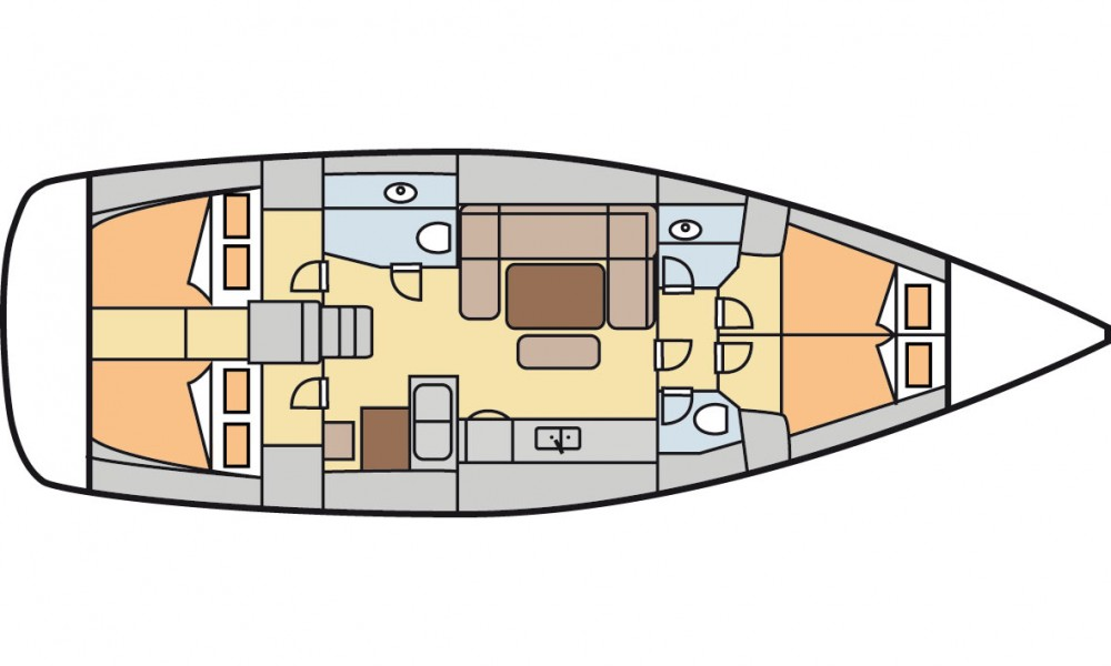 Rental yacht Marmaris - Dufour Dufour 450 GL on SamBoat