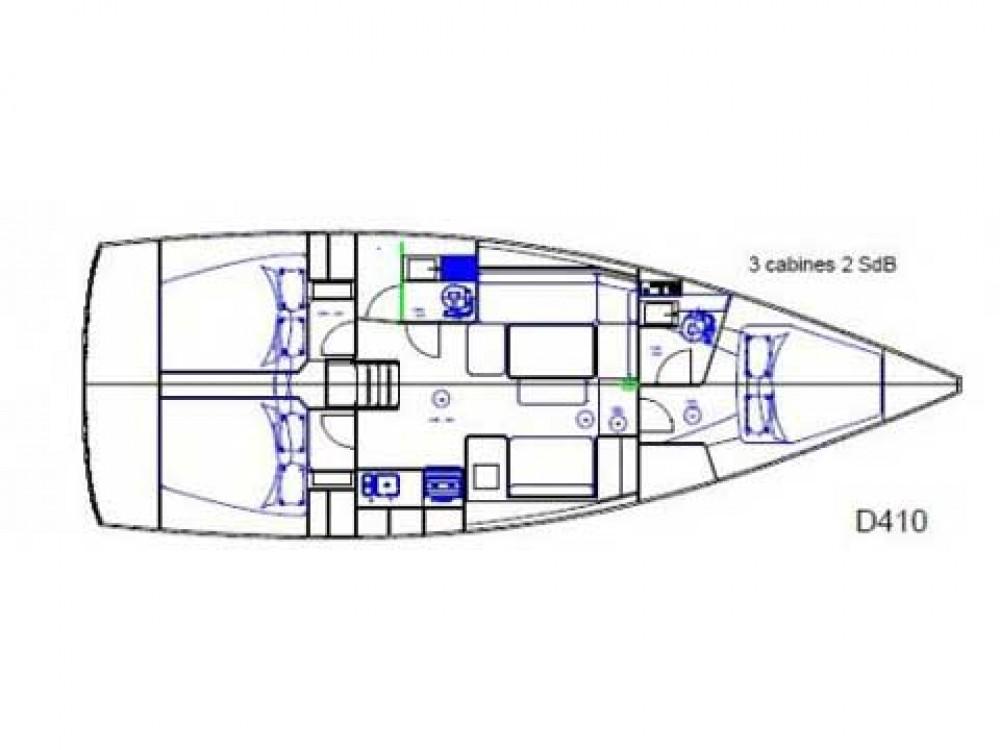 Boat rental Marmaris cheap Dufour 410 Grand Large 6