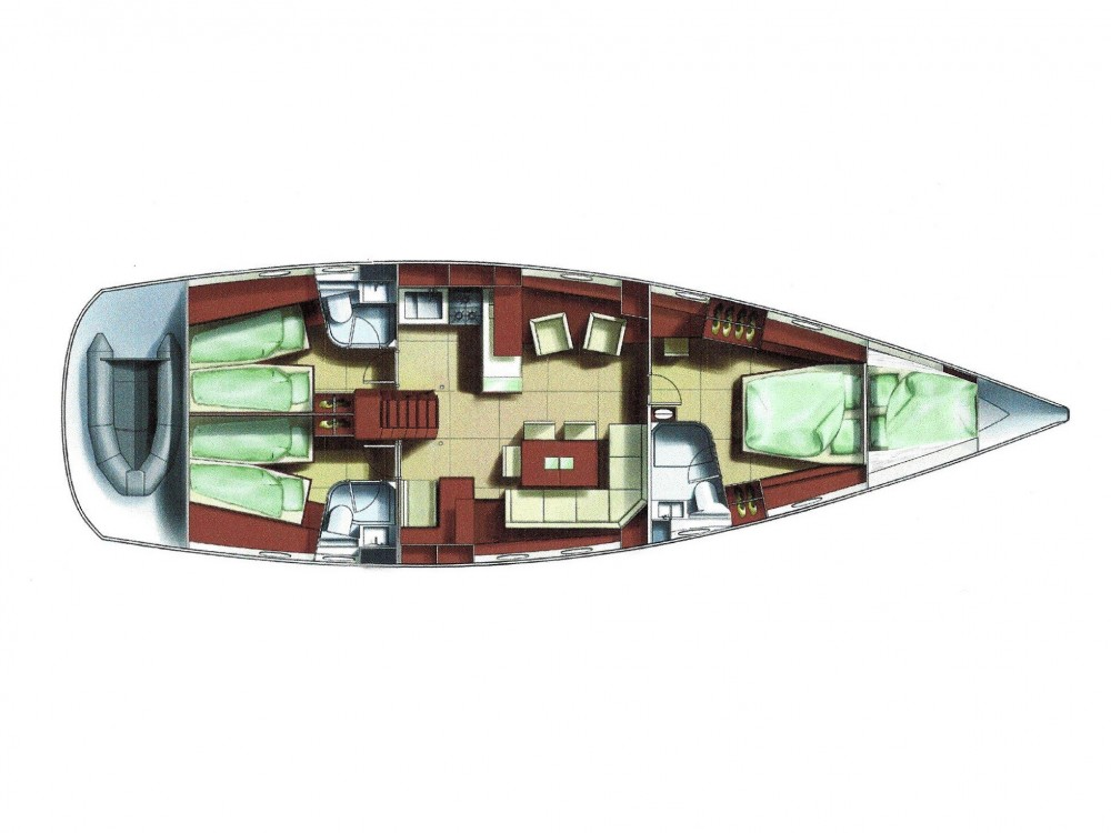Rental yacht Rogoznica - Hanse Hanse 531 on SamBoat