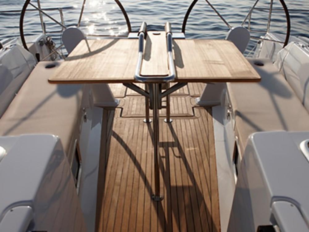 Boat rental  cheap Hanse 455