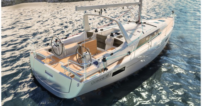 Boat rental Athens cheap Beneteau - Oceanis 41.1