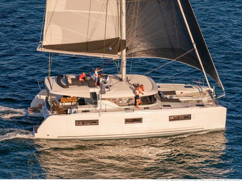 Rental yacht Álimos - Lagoon Lagoon 46 on SamBoat