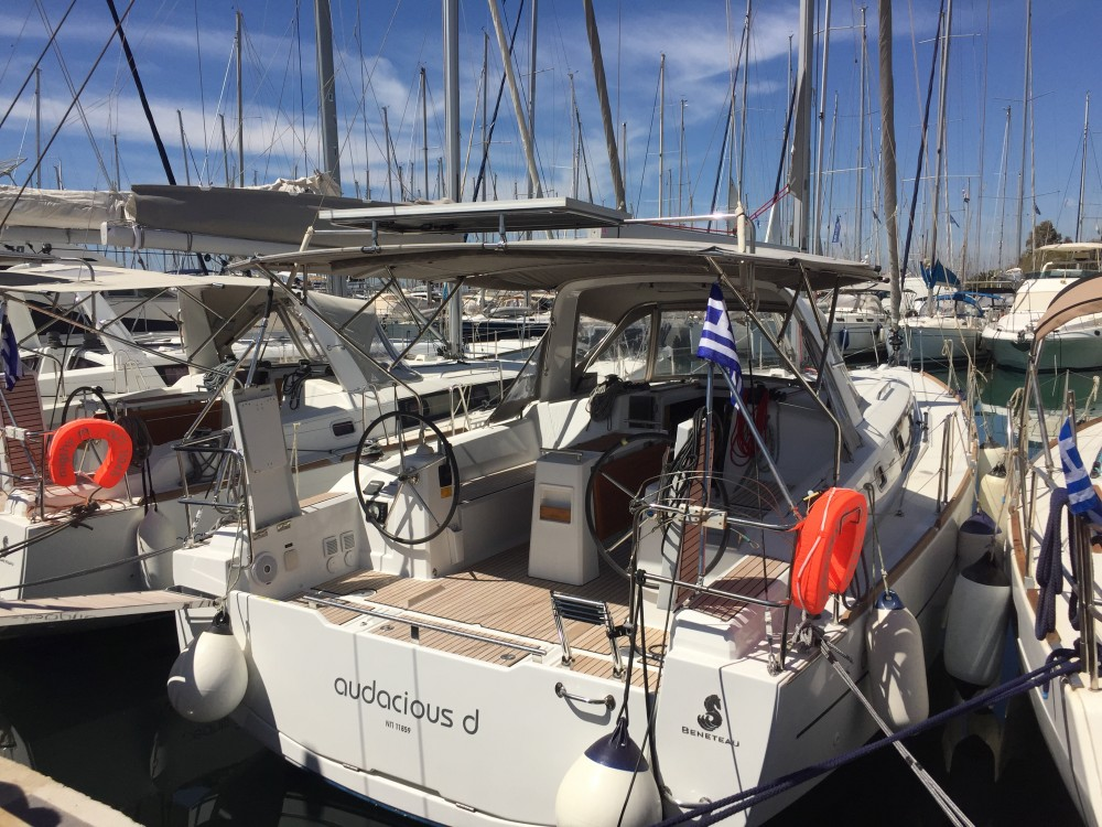 Boat rental Alimos Marina cheap Beneteau - Oceanis 38