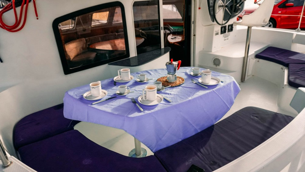 Fountaine Pajot Lavezzi 40 between personal and professional Nettuno