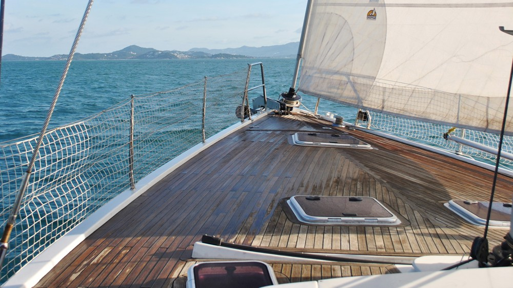 Rental Sailboat in Ko Samui - Hanse Hanse 540e