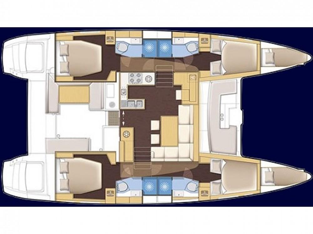 Boat rental Baška Voda cheap Lagoon 450