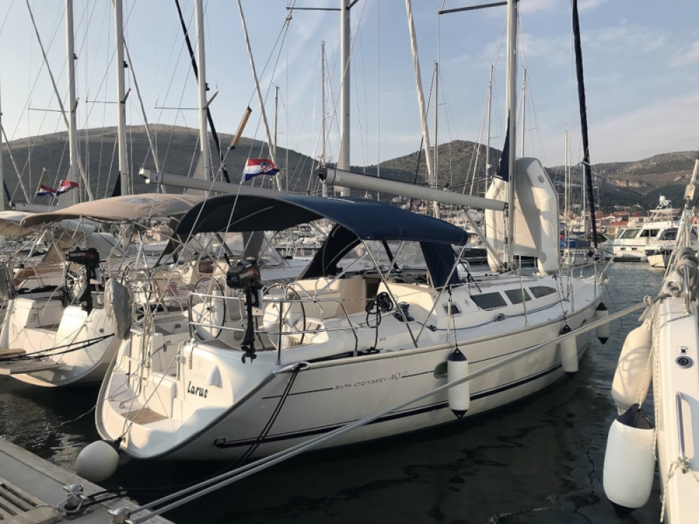 Jeanneau Sun Odyssey 40.3 between personal and professional Grad Pula