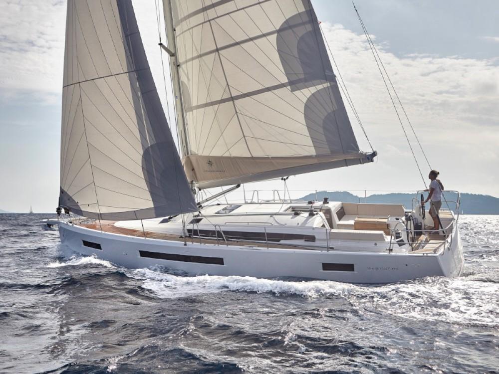 Jeanneau Sun Odyssey 490 between personal and professional Primošten