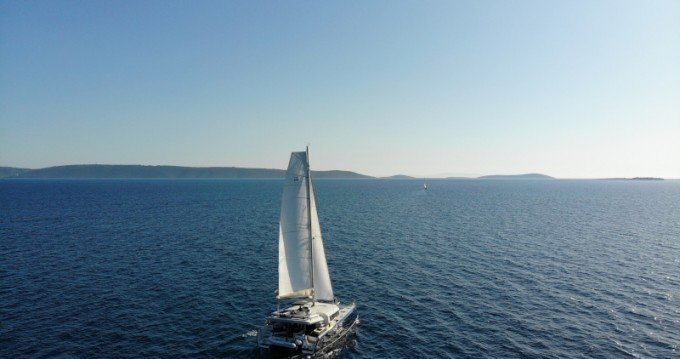 Boat rental Dubrovnik cheap Dufour 48 Catamaran