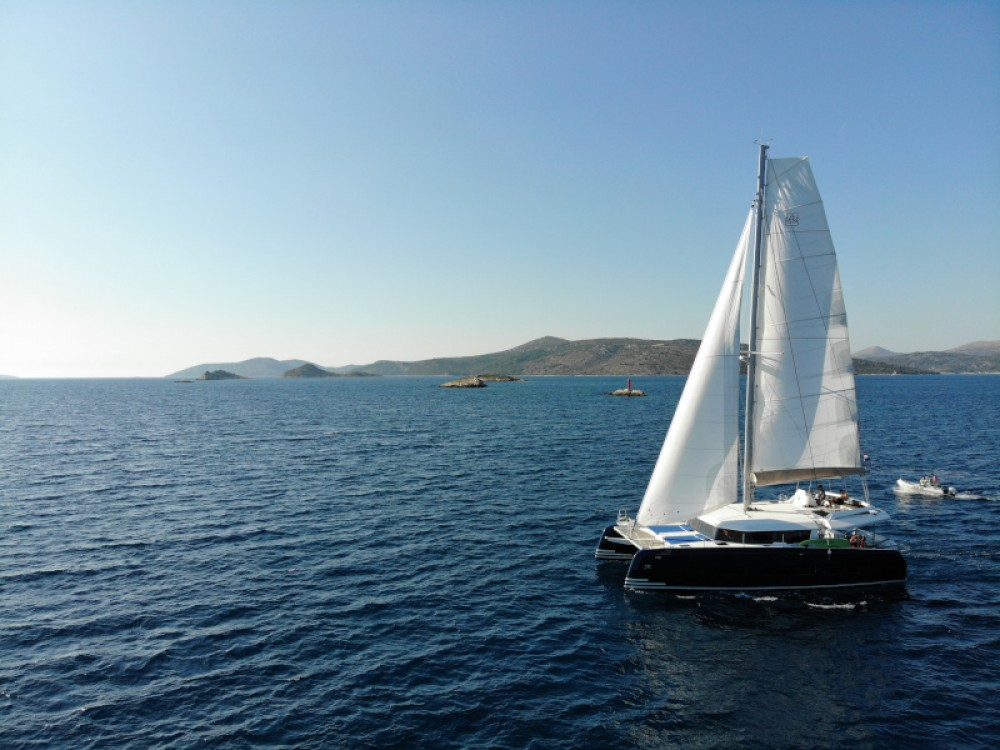 Boat rental Primošten cheap Dufour 48 Catamaran