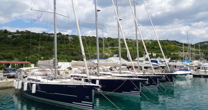 Boat rental Dufour Dufour 56 Exclusive in Dubrovnik on Samboat