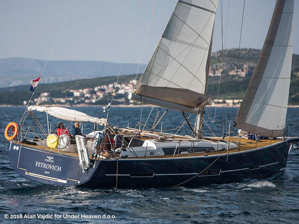 Rental yacht Primošten - Dufour Dufour 560 Grand Large on SamBoat