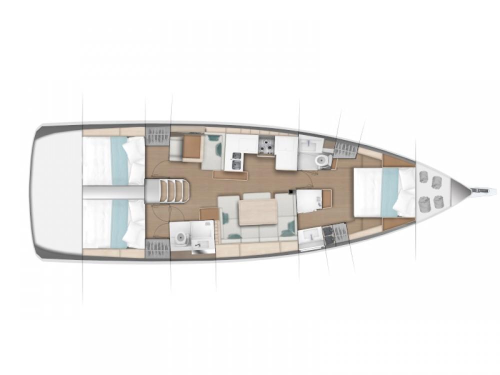 Boat rental Jeanneau Sun Odyssey 490 in Primošten on Samboat