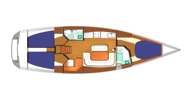 Boat rental Dufour Dufour 425 in Salivoli on Samboat